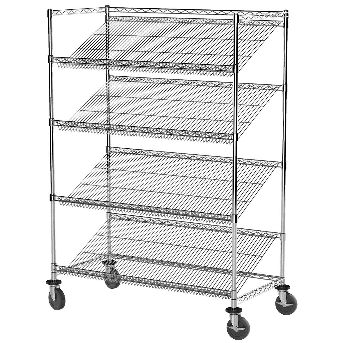 Akro-Mils Mobile Introduces New Slanted Wire Shelving Starter Kits ...