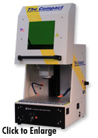 tabletop laser marking system
