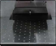 Fixture Table for FiberCab laser system