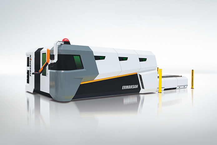 FIBERMAK G FORCE - Fiber Laser Cutting