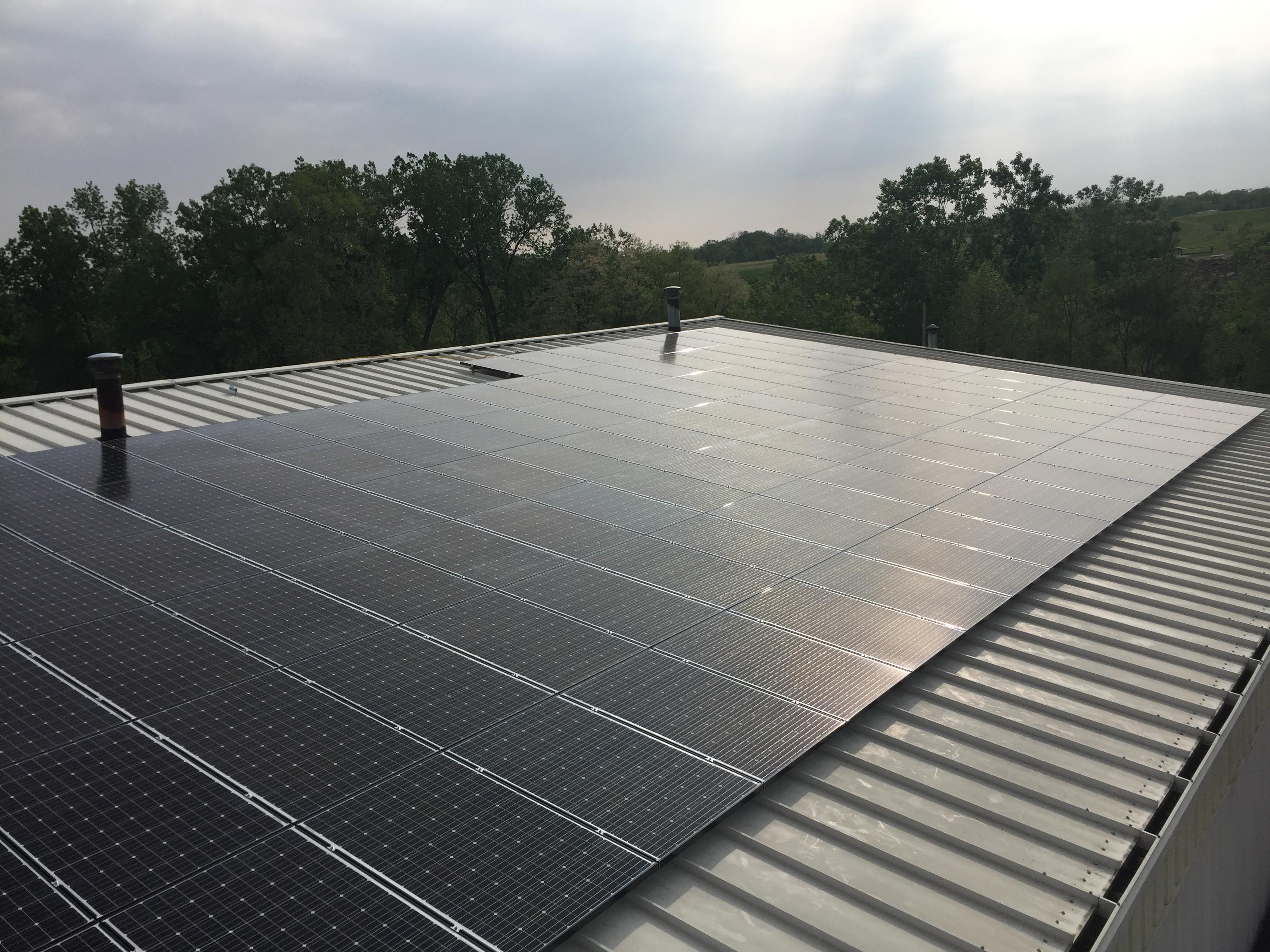 160 Mitsubishi Solar Modules