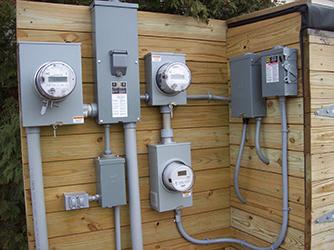 electric meters