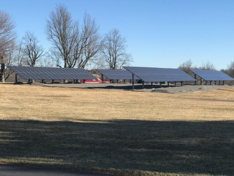 Ohio Caverns Ohio Solar Array