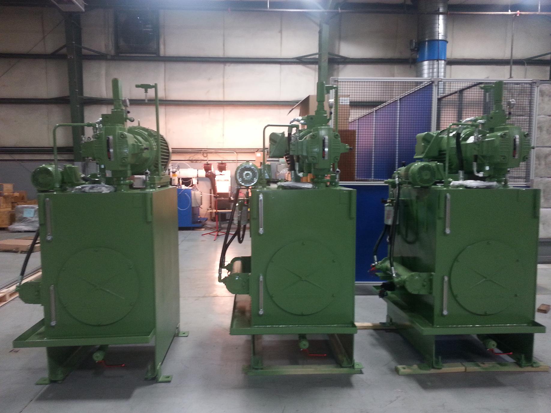 Hydraulic Power Unit Rebuild
