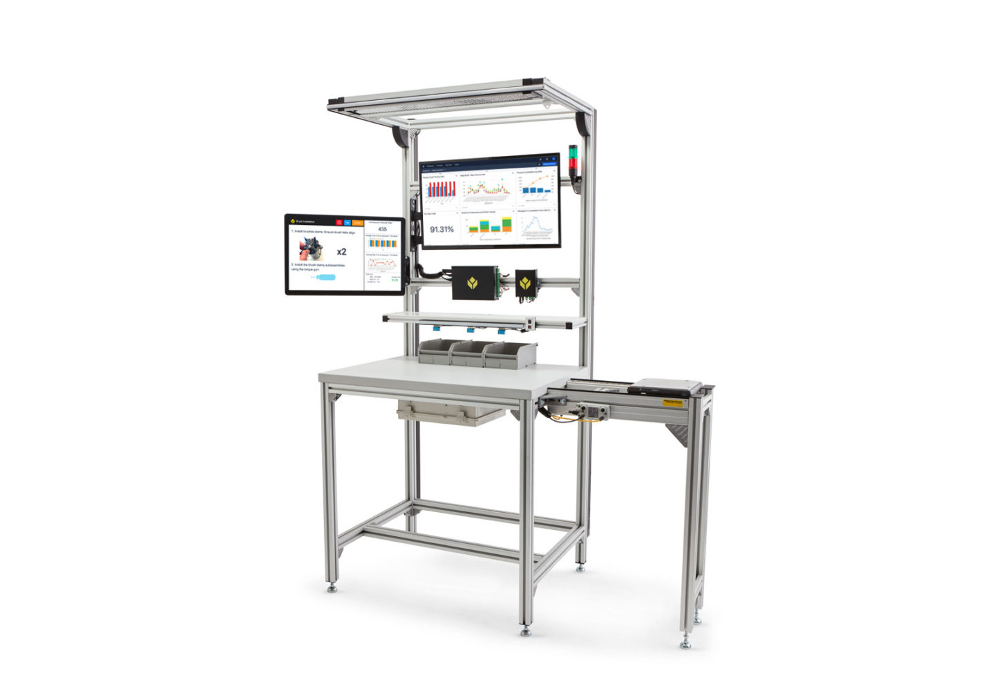 Smart Workstation from Bosch Rexroth and Tulip