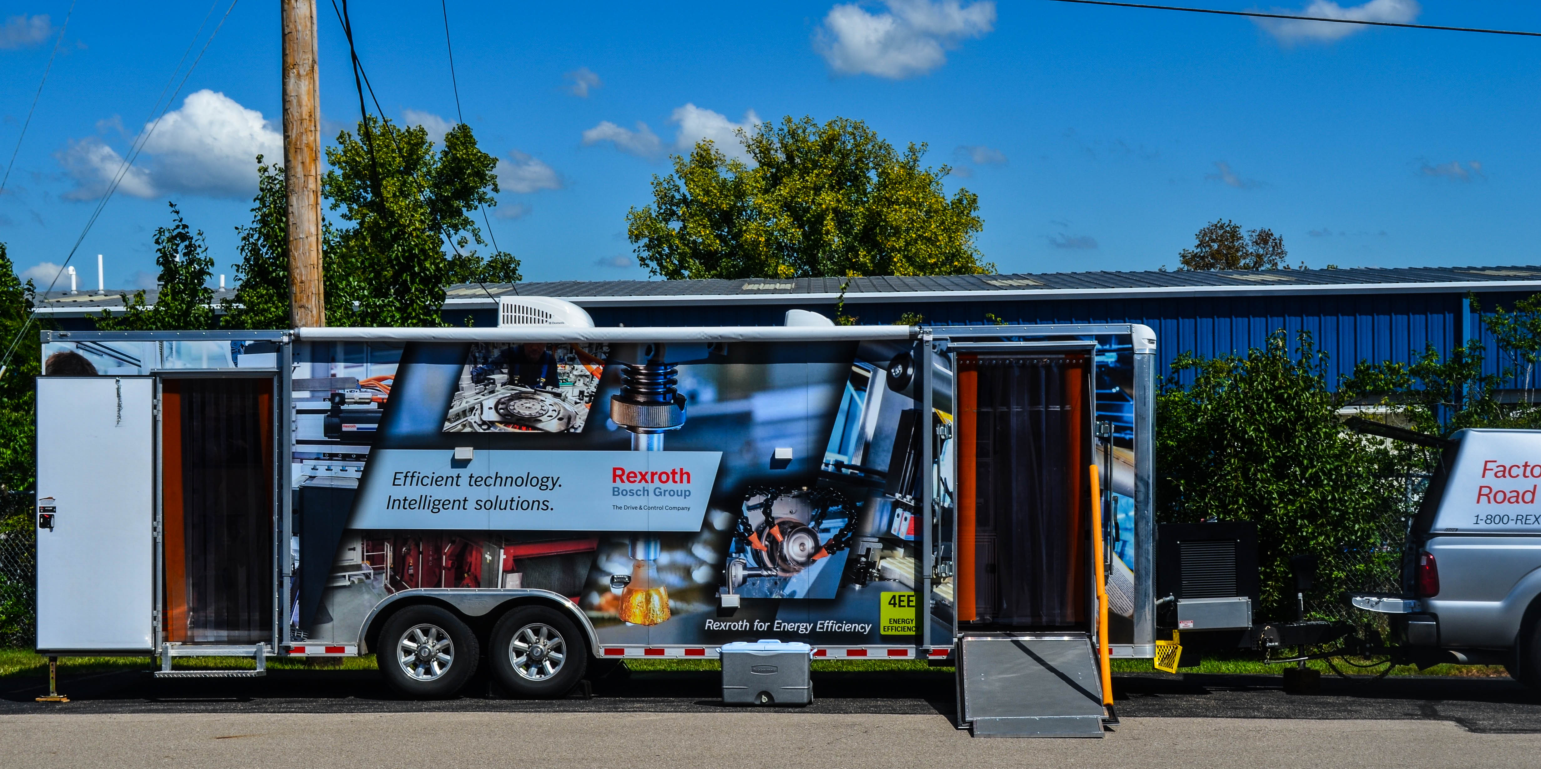 Bosch Rexroth Factory of the Future Roadshow Trailer