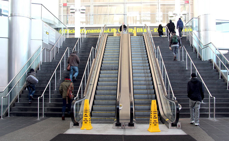 Minimum Quantity Lubrication for Escalators