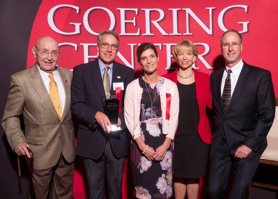 2018 Goering Center Award Winners