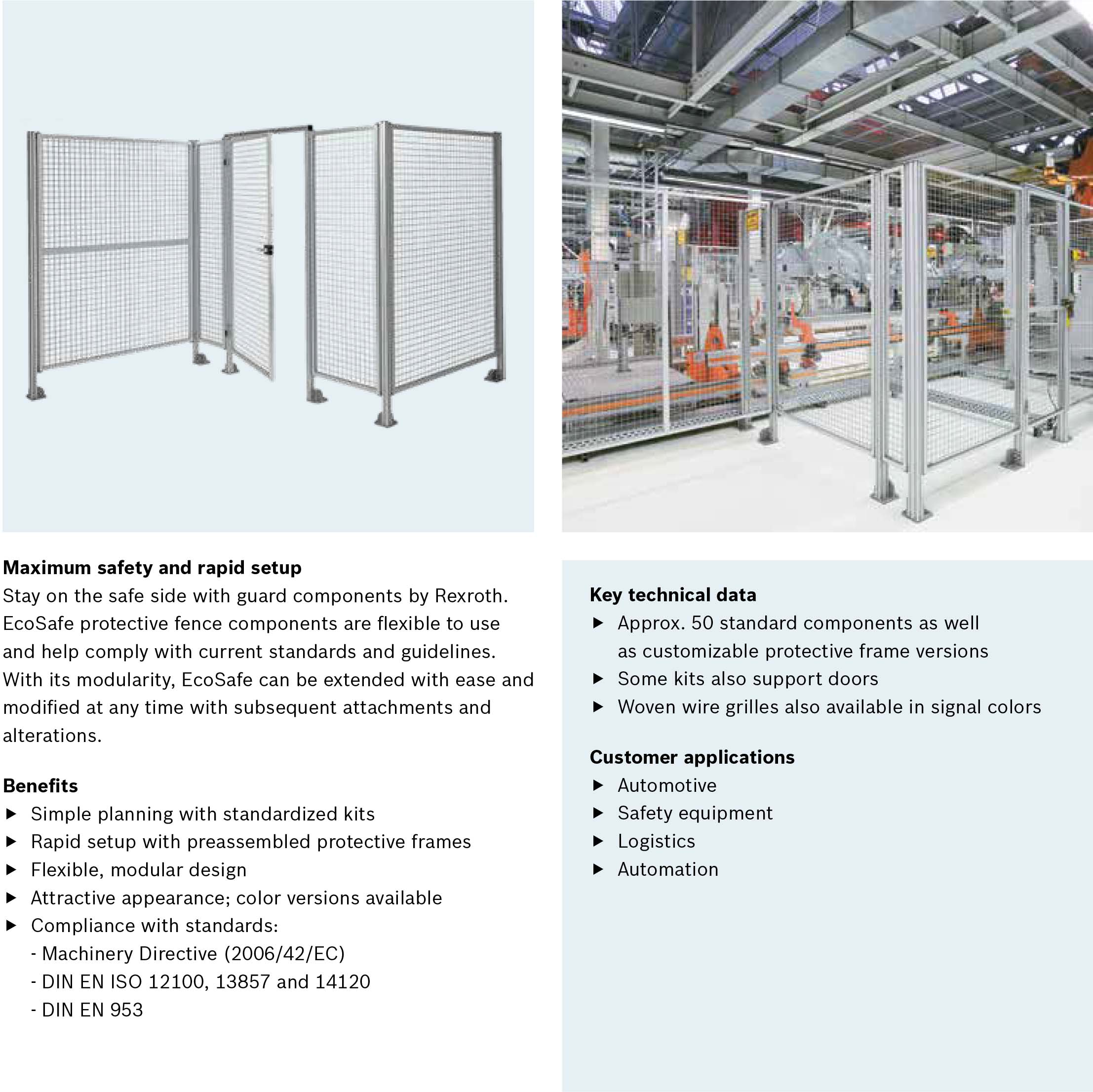 bosch rexroth ecosafe framing