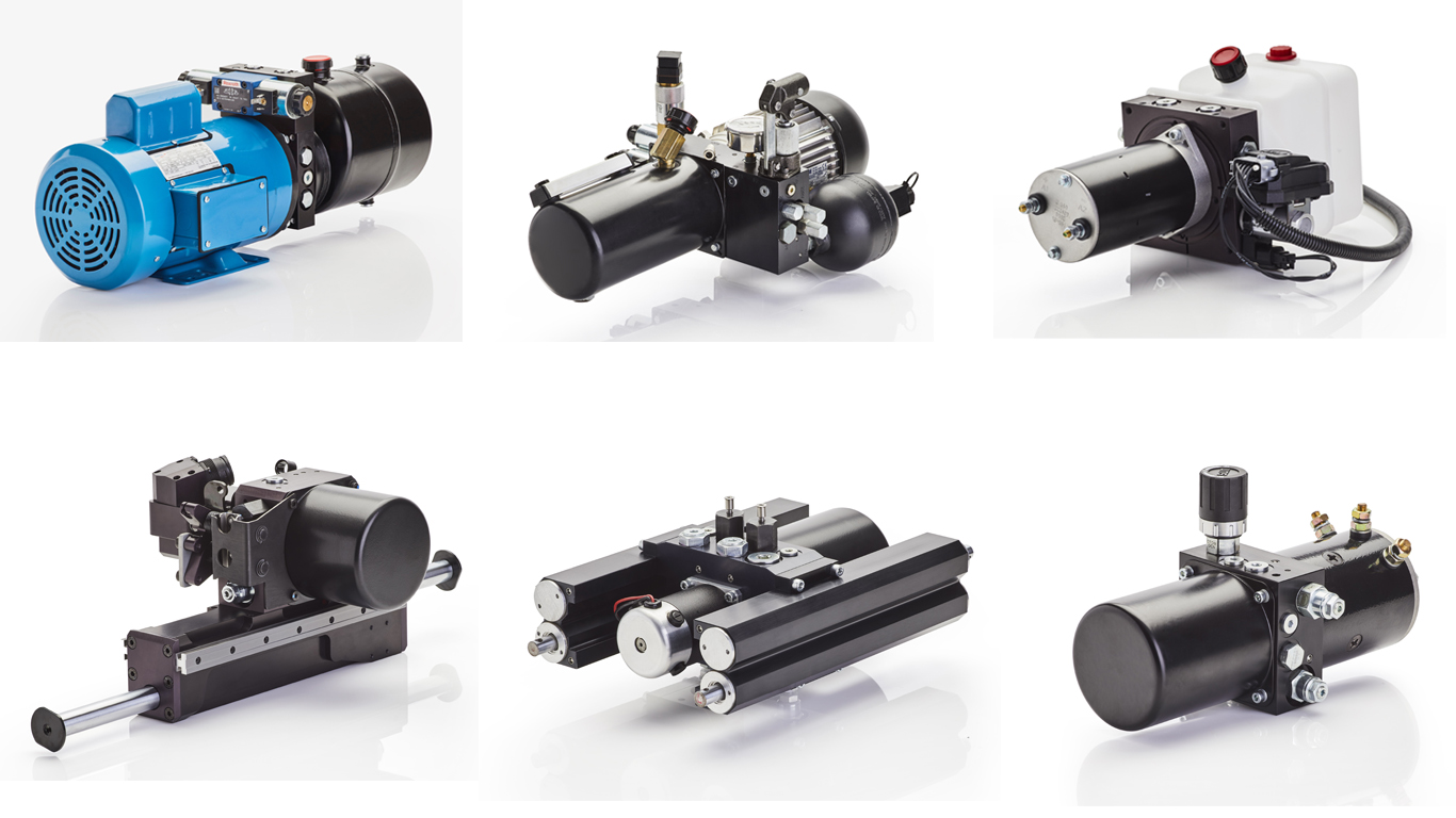 dhp hydraulic powerpacks