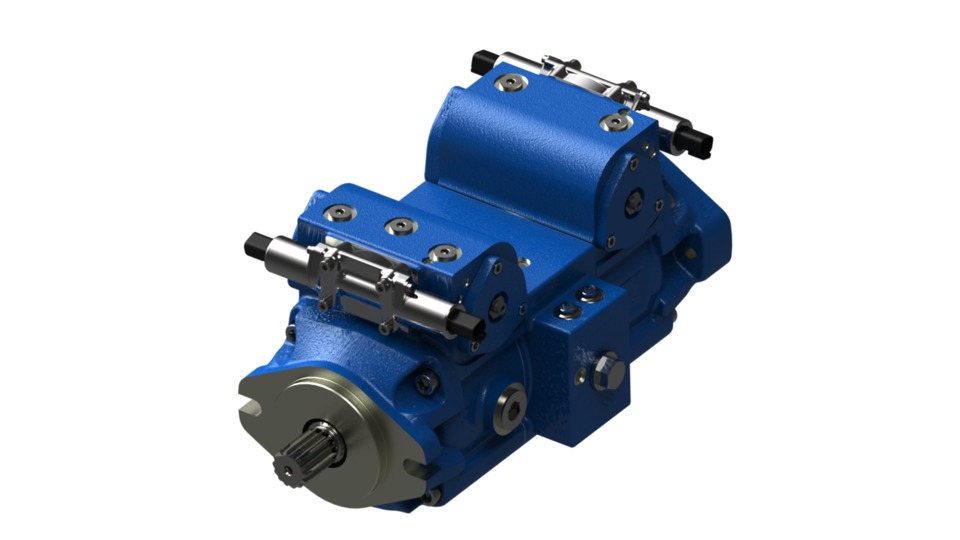 Bosch Rexroth Launches New Pump for Closed-Circuit Application