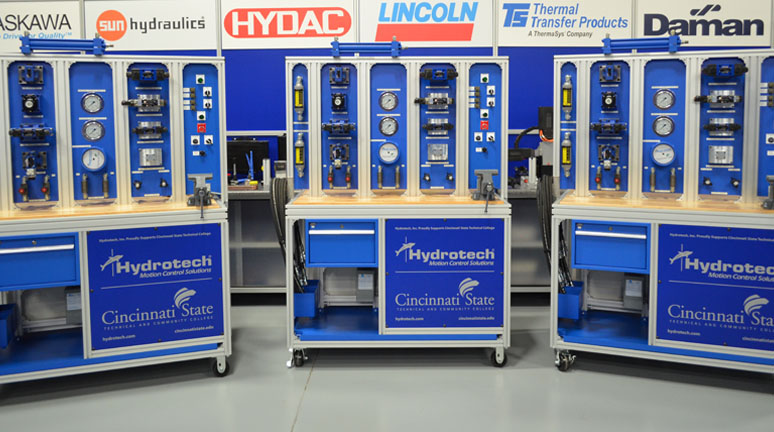 Hydraulic Training Stands