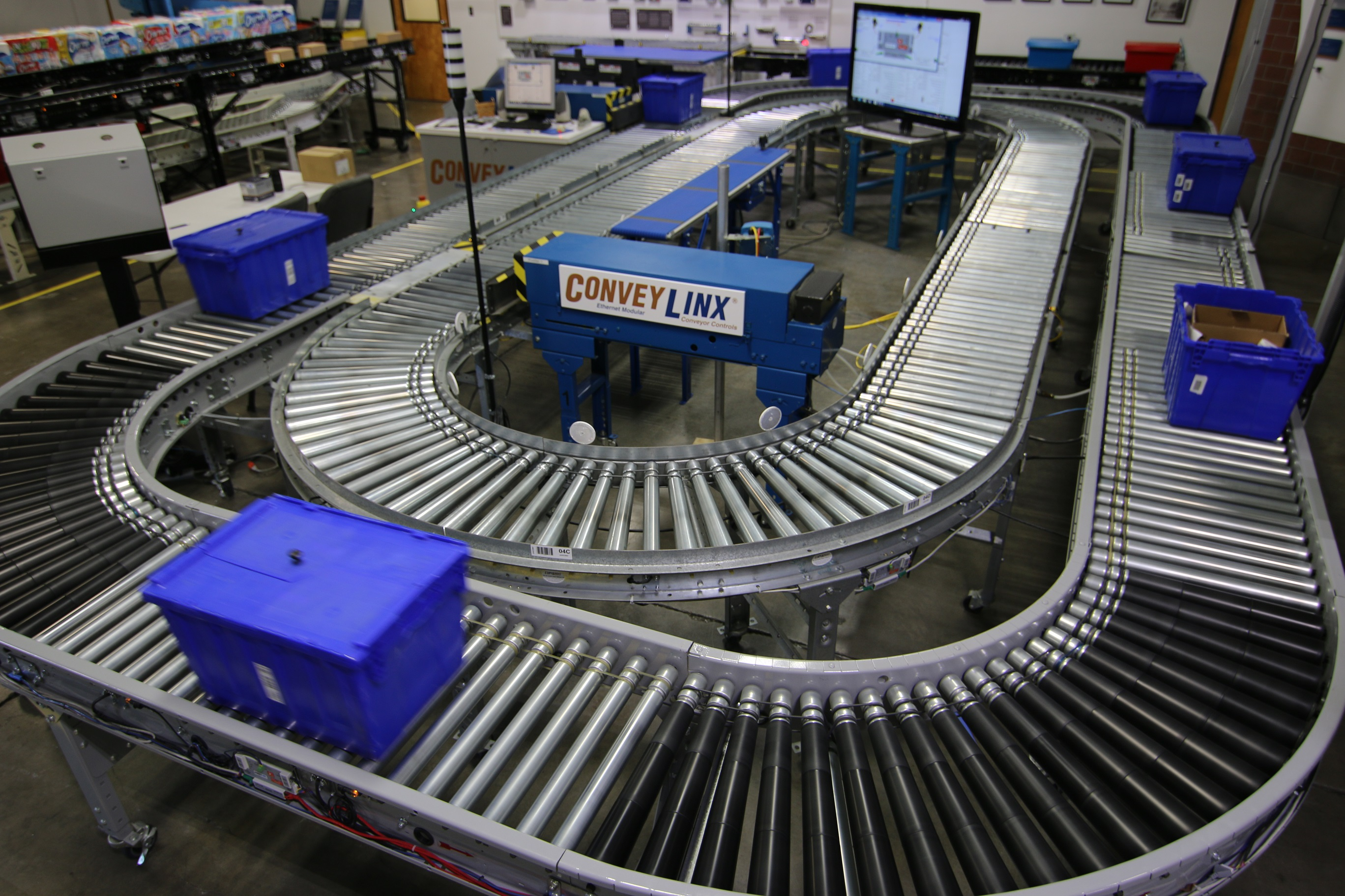 Testing Lab Ensures Conveyor Controls Quality